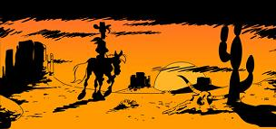 Lucky luke poor loneseom cownoy